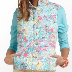 Lilly Pulitzer Women's In the Beginning Puffer